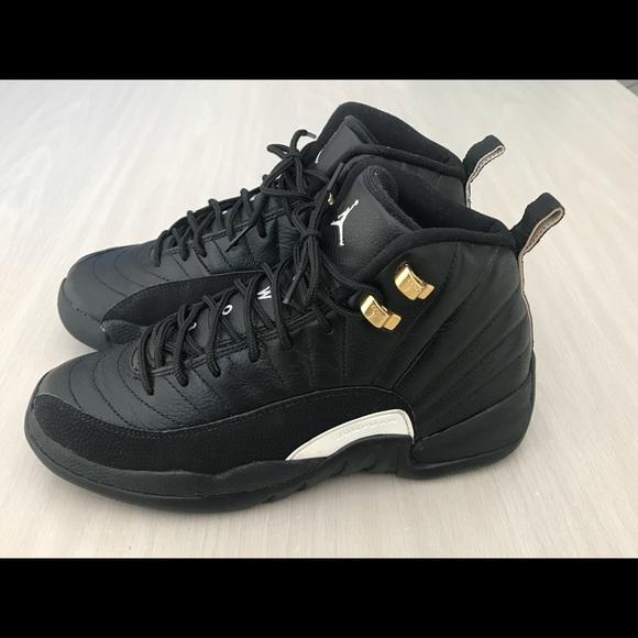 9a87a278776 Jordan Shoes | Nike Air 12 Retro Bg The Master Black | Poshmark